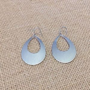 The Limited Jewelry - Silver tone drop earrings